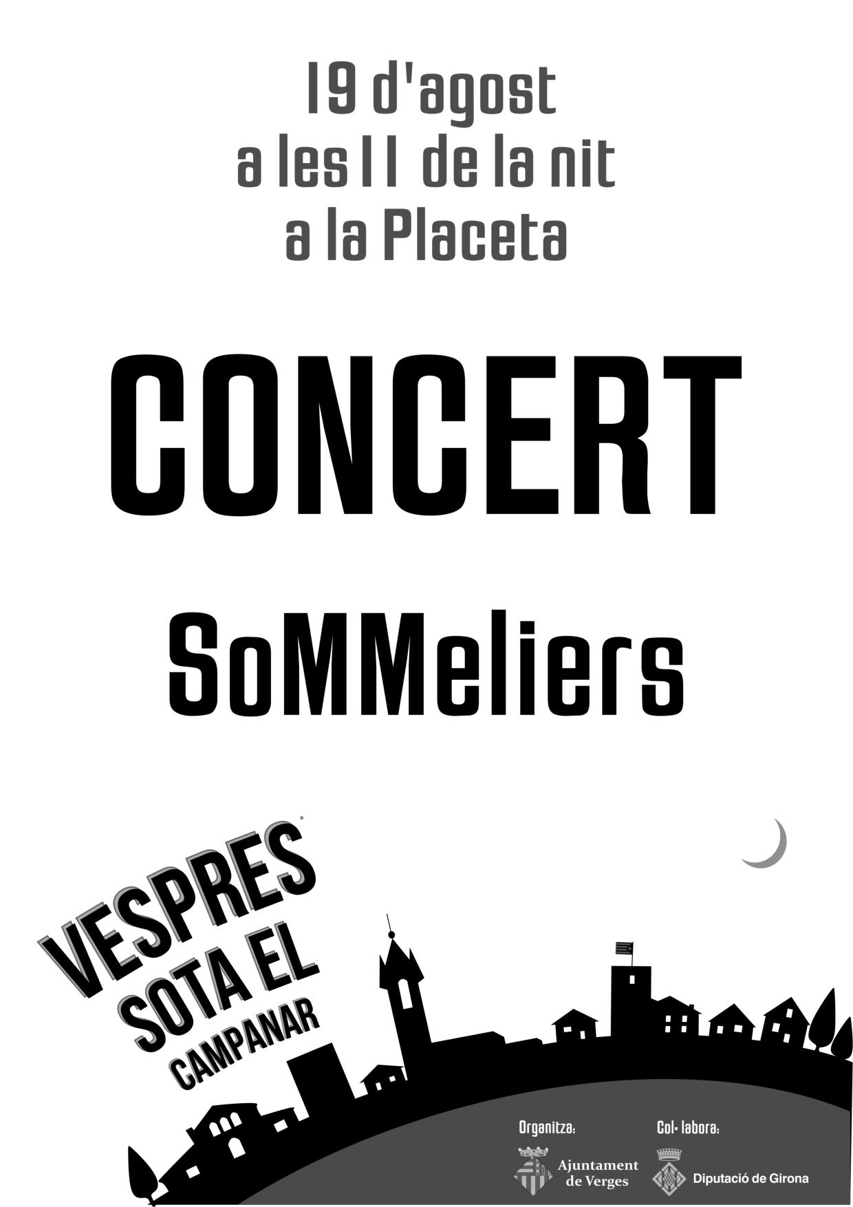 Cartell Concert Sommeliers