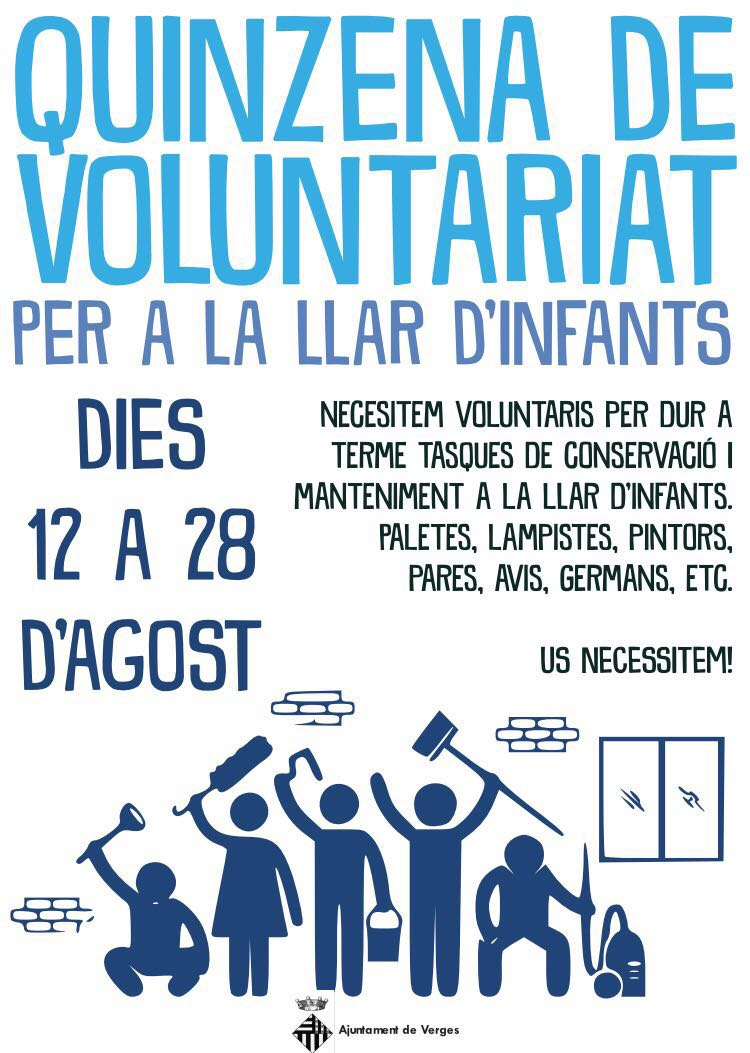 Cartell Voluntariat Llar d'infants