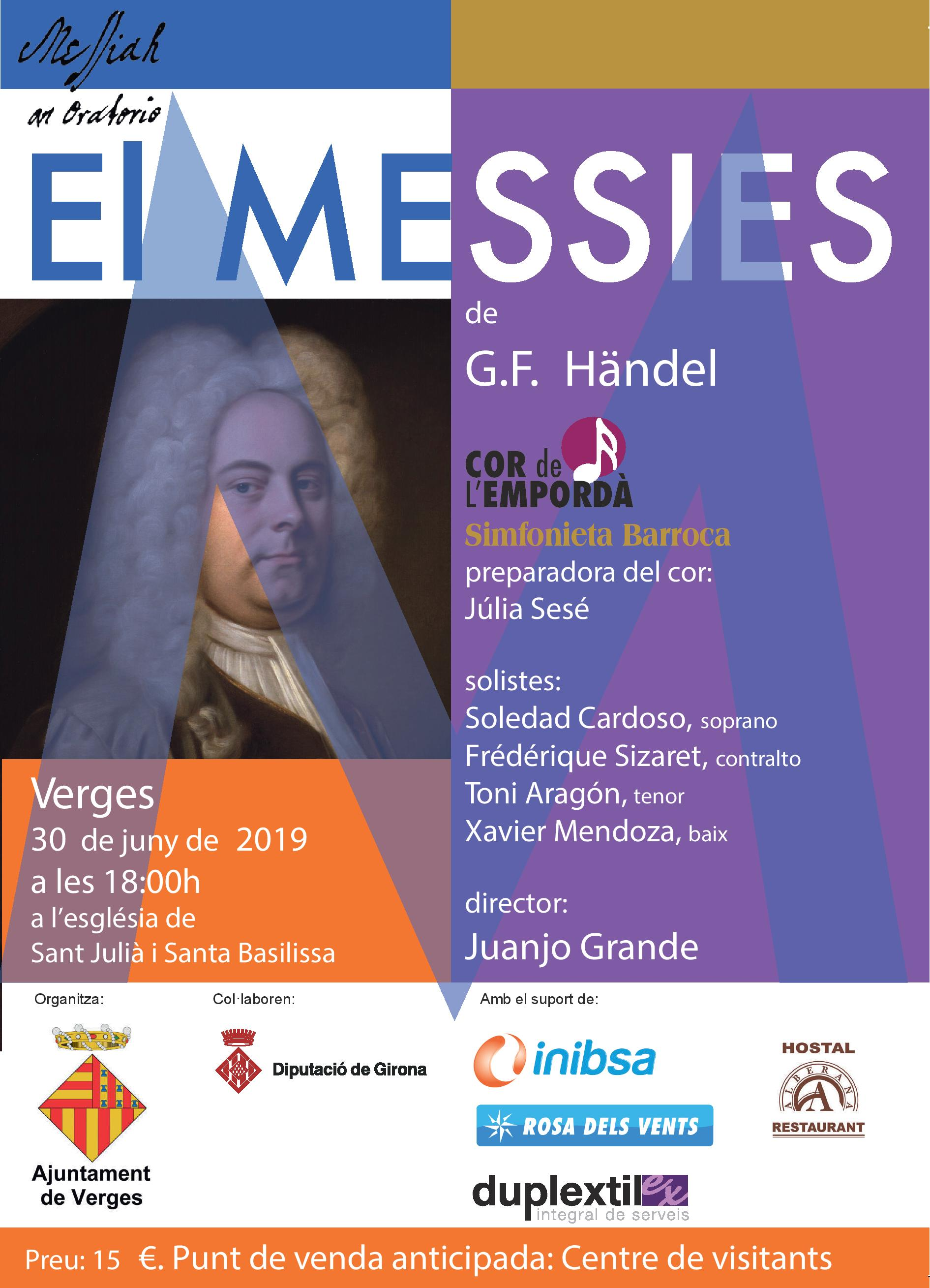 El Messies de Handel a Verges